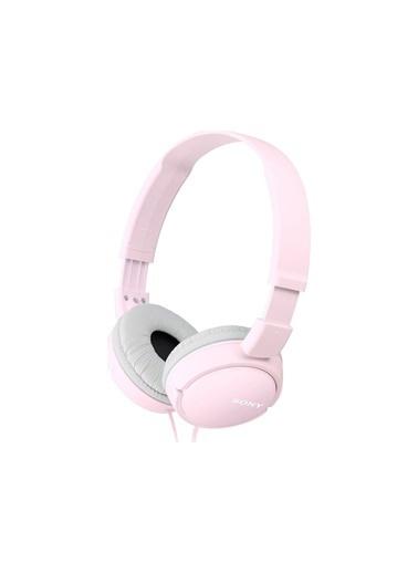 Sony Sony Mdr-Zx110Apw Beyaz Mikrofonlu Kulak Üstü Kulaklık Pembe